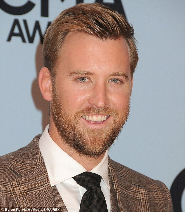 Happily married: Charles Kelley, shown in November 2013, married his longtime girlfriend Cassie McConnell in 2009