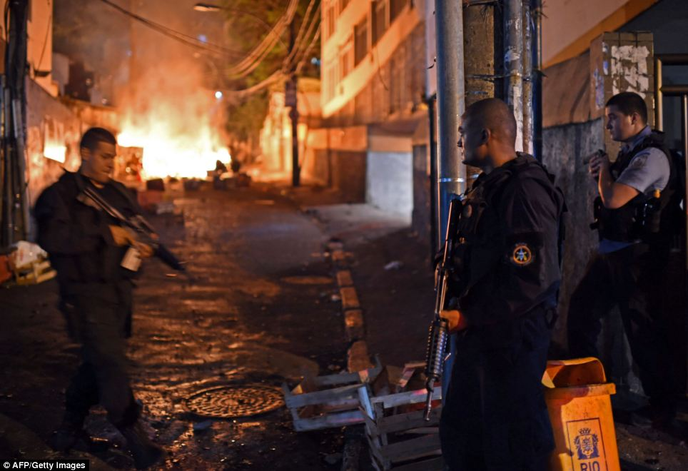 So far, 37 'police pacification units' have been created covering an area with a population of 1.5 million people