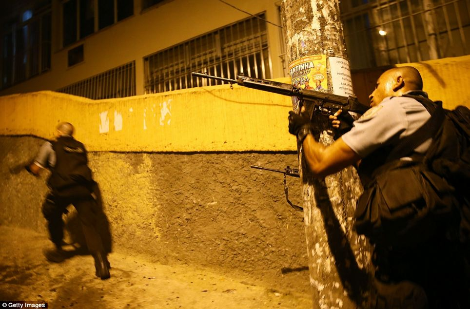 Since November, gunfights have regularly broken out in the favela where Tuesday's violence took place