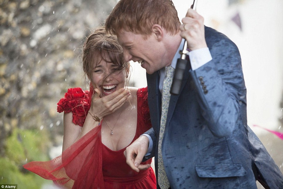 For rent: Holidaymakers can stay in the property used in the film starring Rachel McAdams and Domhnall Gleeson