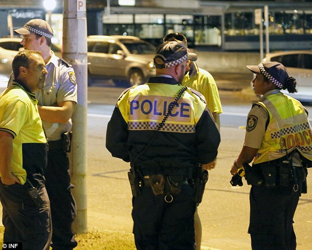 Traffic investigation: A New South Wales police spokesman said the driver returned a negative breath test result