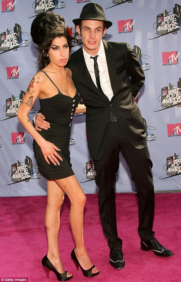 In 2007: Blake and Amy married in Florida in May 2007 - two years after they first met - but their relationship was often the subject of controversy