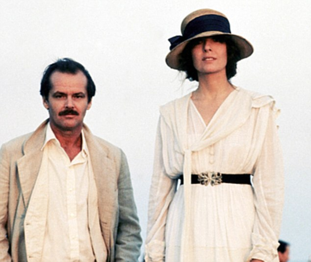 Keaton revealed that when she first met Jack Nicholson she 'didn't want to be friends. I wanted him to kiss me,' she admitted. 'But he was already taken' (pictured together in Reds)