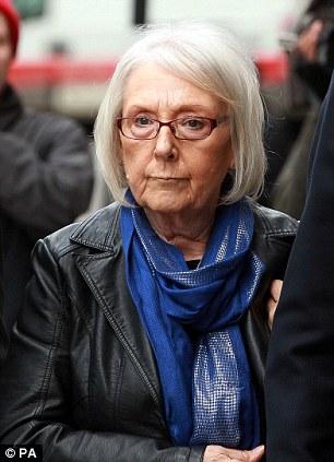 Sympathy: Pauline feels for widow Elizabeth Johnson