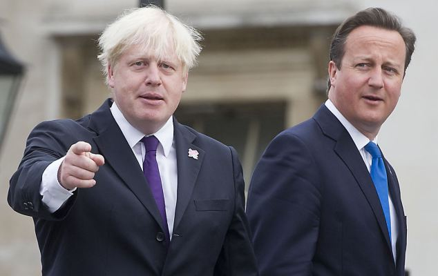 Boris Johnson could be London Mayor and serve on the 'national team', David Cameron revealed
