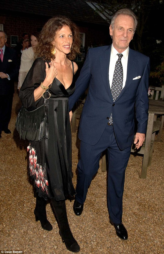 Couple: Mr Shand and his wife Clio at a private dinner in Chelsea in 2007