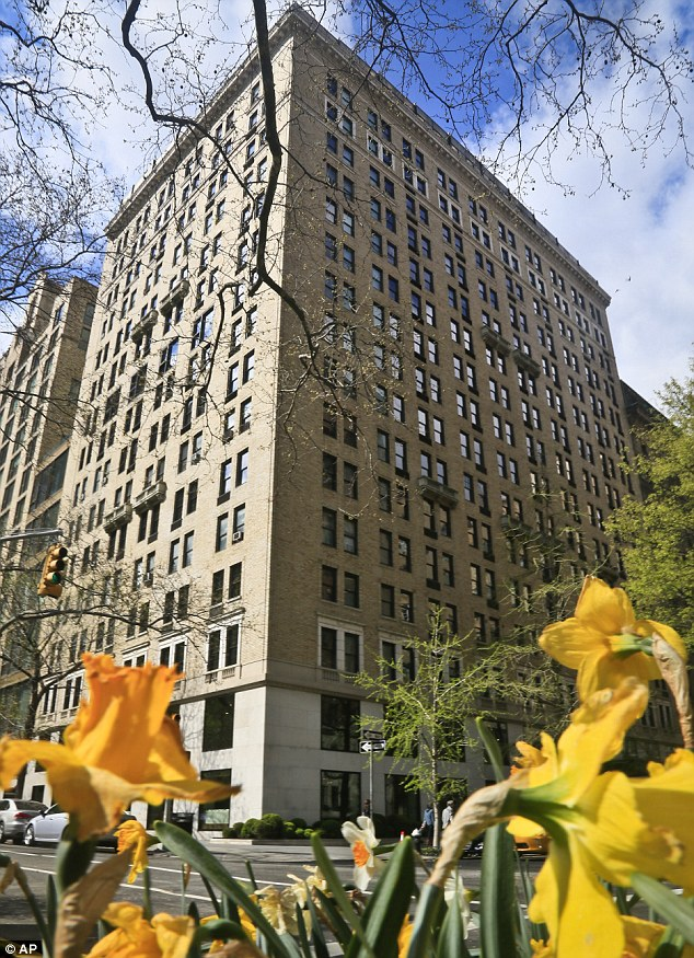 Trauma: The New York Police Department said emergency services picked up Mr Shand outside the Gramercy Park Hotel