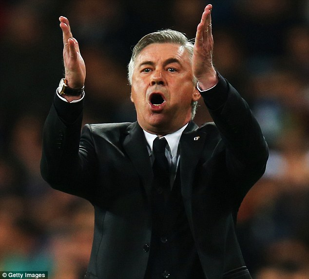 Best man for the job: Carlo Ancelotti would do a very good job for a number of Premier League clubs