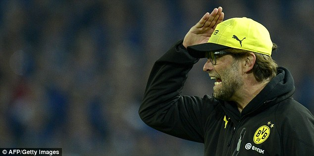 Inexperienced: Jurgen Klopp has won a title but has no real knowledge of how to spend £200m