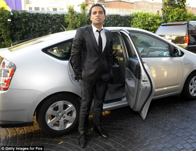 Eligible bachelor? Police were called to Chahal's penthouse after a 911-call about domestic violence on August 5, 2013, which later saw him face 45 felony charges based on the CCTV footage taken by cameras in his bedroom
