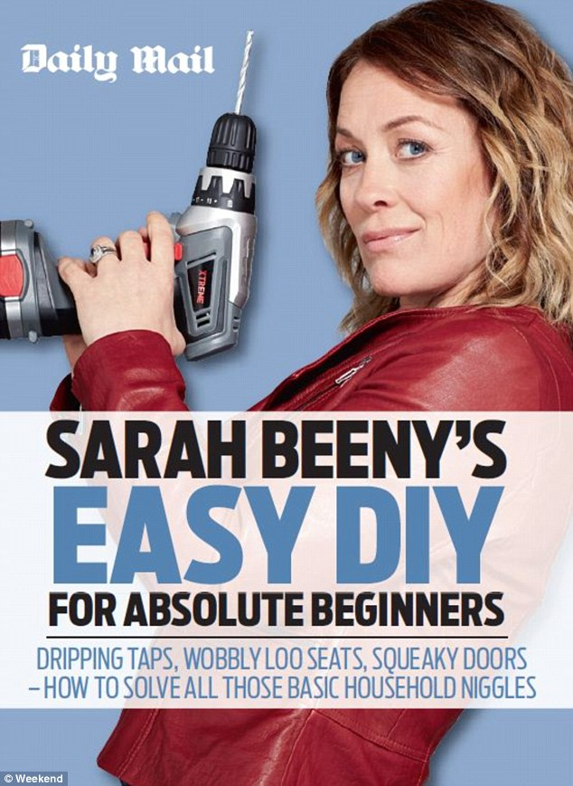 Sarah Beeny's Easy DIY For Absolute Beginners is free inside today's Daily Mail