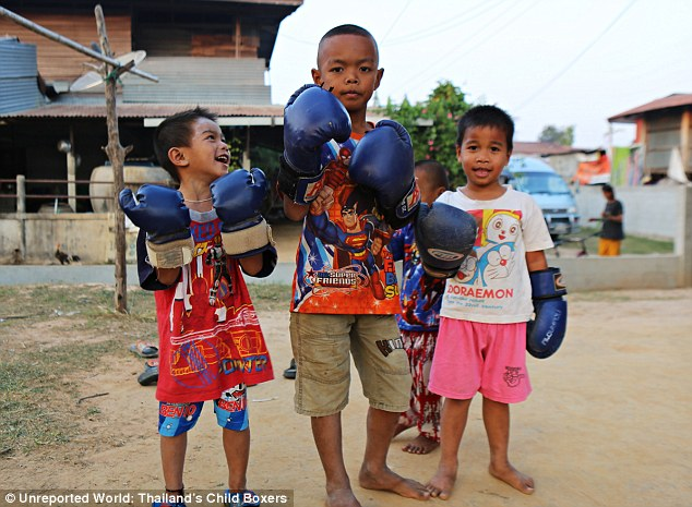 Education: Children who show promise in Muay Thai are sent to residential boxing camps with fees paid from winnings