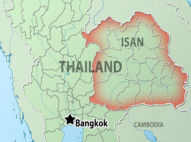 Isan in Thailand