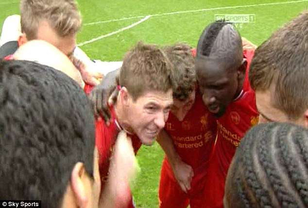 First time in over 20 years: Steven Gerrard is set to lead Liverpool to the Premier League title