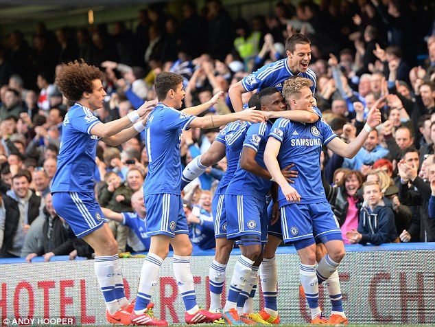 On form: Mourinho will be hoping for another huge performance like they showed when they beat Arsenal 6-0