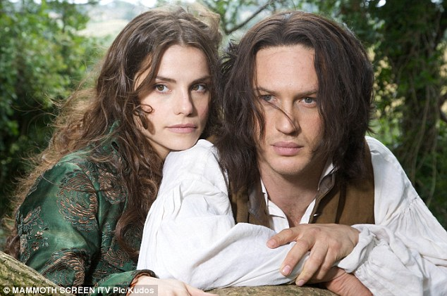 Natural chemistry: Tom and Charlotte met on the ITV set of Wuthering Heights in 2009 and got engaged in 2010