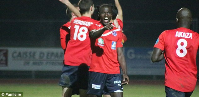 Recruit: Cameroon striker Ande N'doh is top scorer in the division with 21 goals