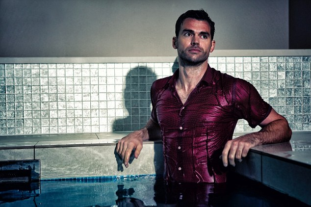 Looking good: England fast bowler James Anderson has launched his own menswear brand