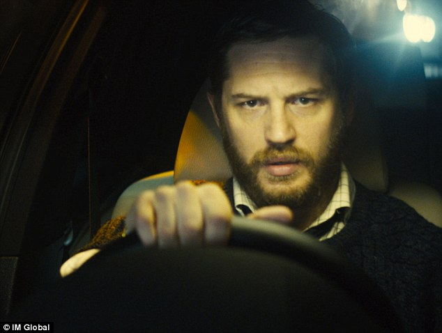 Gripping watch: Tom stars in the thrilling film about how one man's drive through London changes his entire life