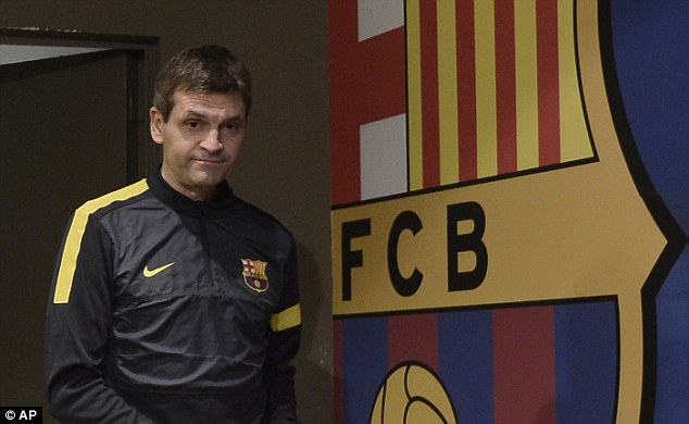 Legend: Tito Vilanova has passed away at the age of 45 after losing his battle with throat cancer