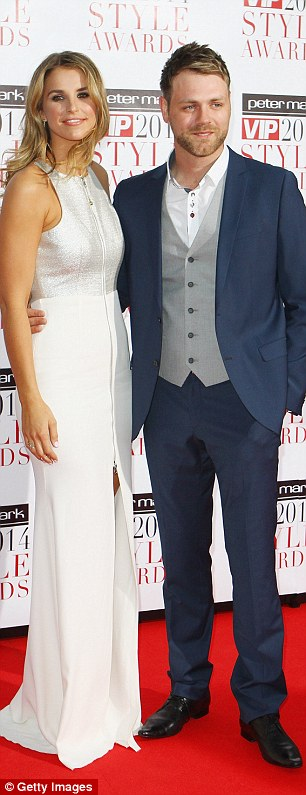 Vogue Williams and Brian McFadden