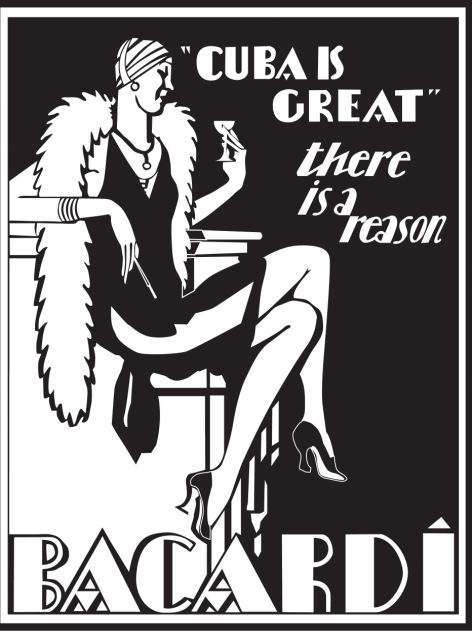 1936: Art Deco Collection / Cuba is great. There is a reason. BACARDI Bacardi heritage images