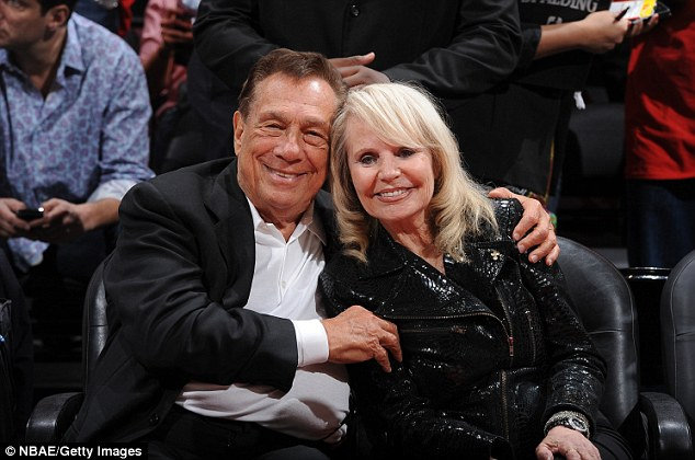 Estranged: Donald Sterling is still married to wife Shelly but the pair have been separated for years