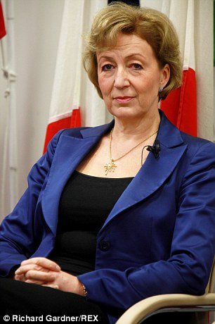 Dissent: New Treasury Minister Andrea Leadsom has vowed to fight HS2