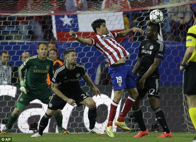 Negative: Chelsea parked the bus against Atletico Madrid and claimed a  commendable draw