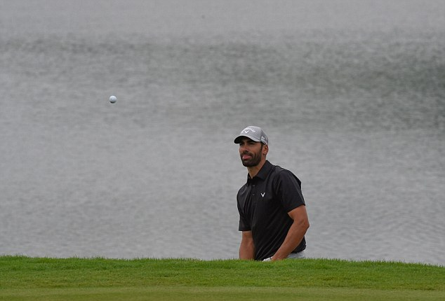 Podium finish: Alvaro Quiros of Spain finished third at the tournament