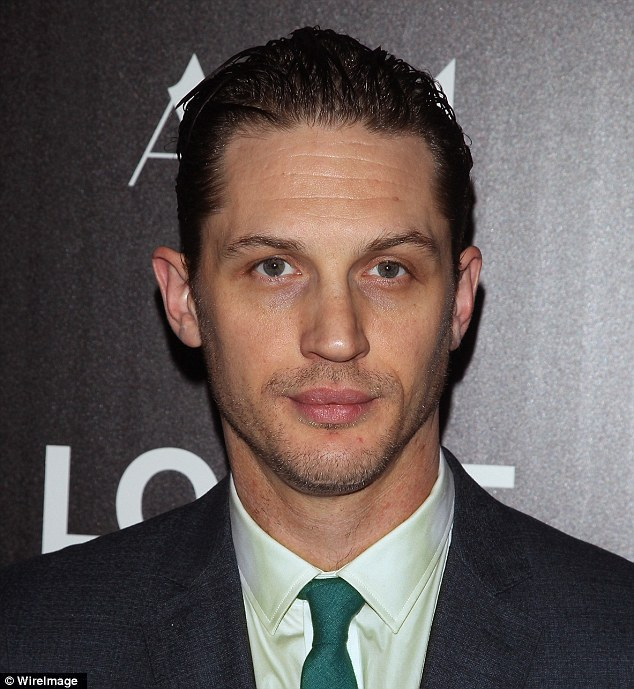 Tom Hardy said: 'When I play a real person, I like to have bits of them. Since I can't take physical body parts and sever those, I try and grab as much 'kit' off them as possible.'