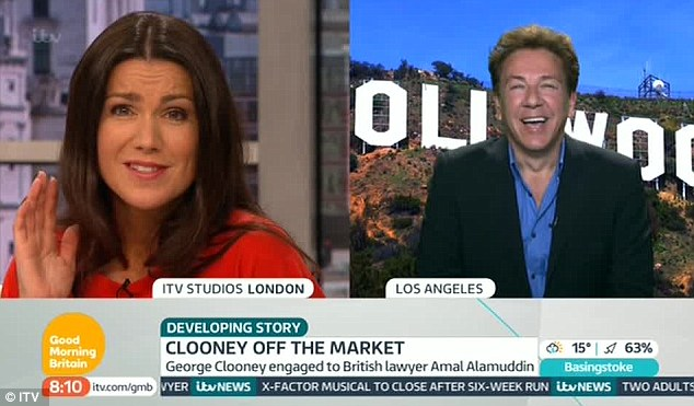 Back for more: Old favourites including celebrity correspondent Ross King were back for the new show