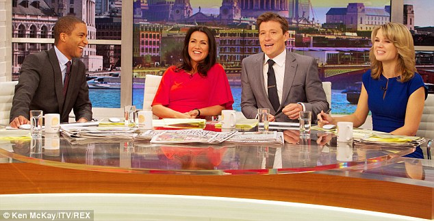 'It's like buying a Ferrari and keeping it in the garage!' Good Morning Britain viewers were quick to complain that Susanna Reid's legs couldn't be seen behind the desk as the show premiered on Monday morning