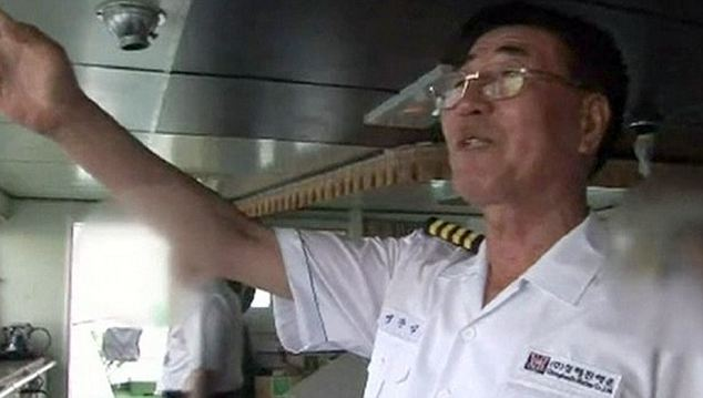 Safest way to travel? Captain Lee Joon-seok says he believes ferries are the safest form of transport 'as long as passengers follow the instructions of our crew' in a 2010 promotional video