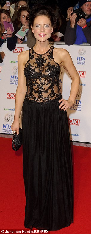 Former friends: Stephanie Waring (left) said she confided in Kym about her relationship problems at the National Television Awards in January