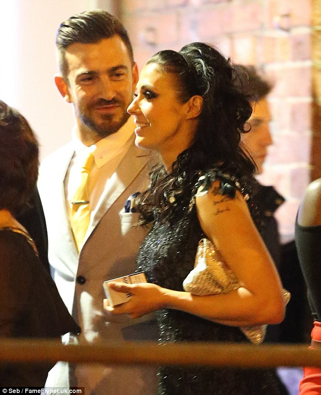 On the down low: Kym and Dan were spotted out together in Manchester on Thursday night