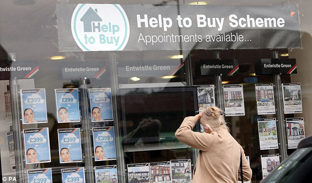 Help: The government has a scheme to help get a mortgage with a 5 per cent deposit