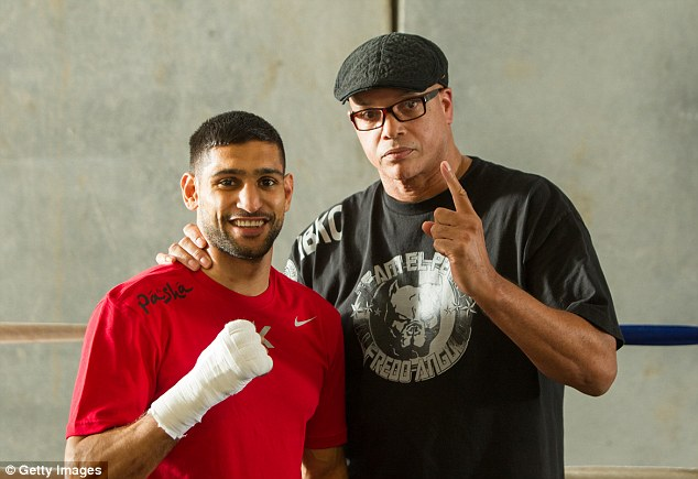 The only way is up: Trainer Virgil Hunter claims Khan will raise his game to new heights against Collazo