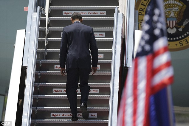 Return: He turned his back on the visit after vigorously defending his foreign policy, but situation in Russia overshadowed the trip
