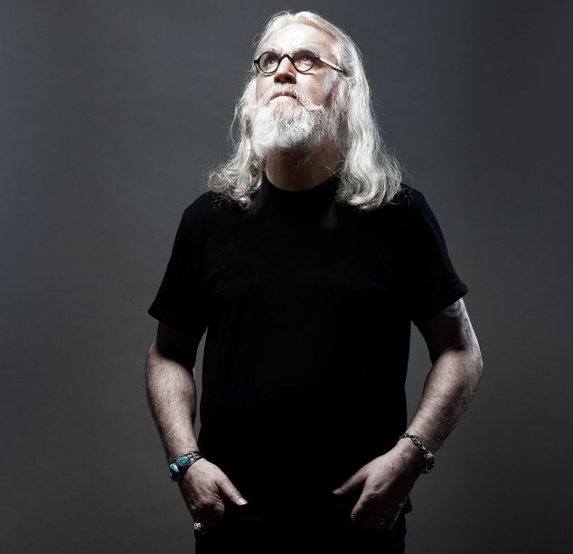 Defiant: Billy Connolly blew a defiant raspberry when he heard he had both cancer and Parkinson's disease