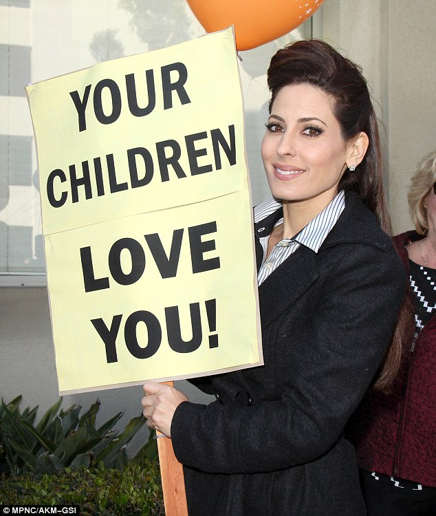 Worried: Kerri Kasem has been made a temporary caretaker for her father and a judge demanded an investigation into his disappearance