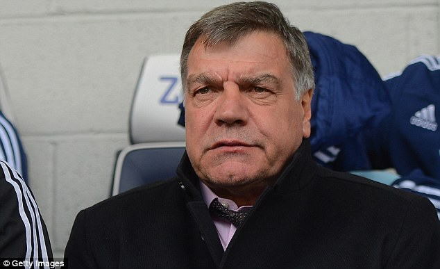 Concern: Allardyce s under pressure after a run of poor results