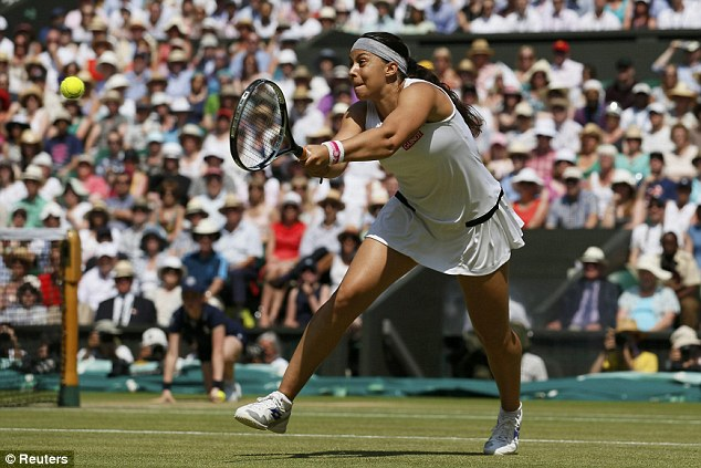 Champion: France's Marion Bartoli took the top prize in the ladies' competition last summer