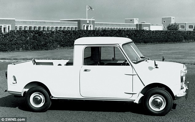 The Paceman Adventure is not the first Mini pickup to be made - back in 1961 the iconic Mini was converted into a commercial pickup vehicle until it was discontinued in 1982