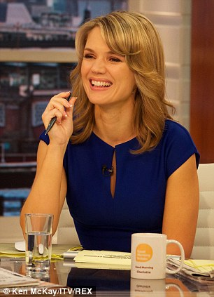 Completing the crew: Charlotte Hawkins, 28 and Sean Fletcher, 30, complete the quartet