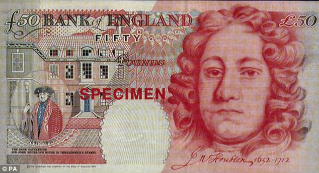 Replaced: The notes featuring Sir John Houblon will no longer be legal tender