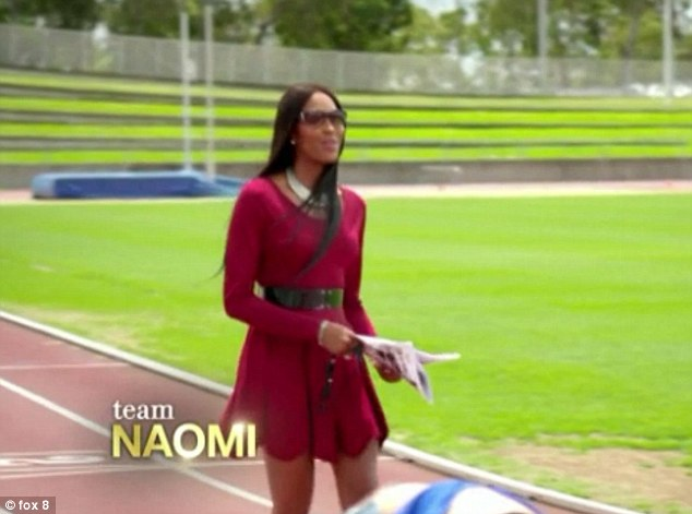 In it to win: The model mentor has had a win at all costs attitude since the show aired in February and only lost her first competitor in episode 7