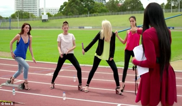 Ready, set, go! The 43-year-old has put her beautiful models through their paces, and the team has been rewarded with win after win