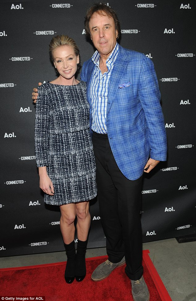 Star studded: Portia de Rossi and Kevin Nealon joined a host of stars at the event in New York on Tuesday