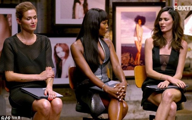 Tough times: Nicole has been outspoken about her turbulent relationship with the British supermodel, while Cheyenne gets along with both women